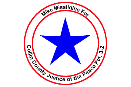 Mike Missildine for Collin County Justice